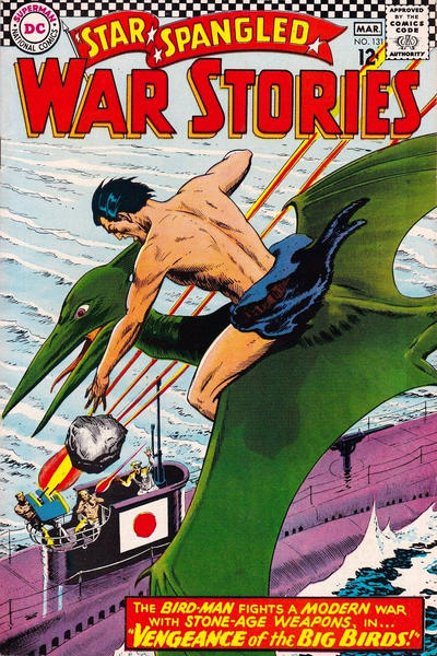 Cover for Star Spangled War Stories (DC, 1952 series) #131