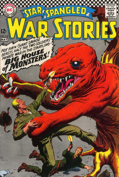 Cover for Star Spangled War Stories (DC, 1952 series) #132