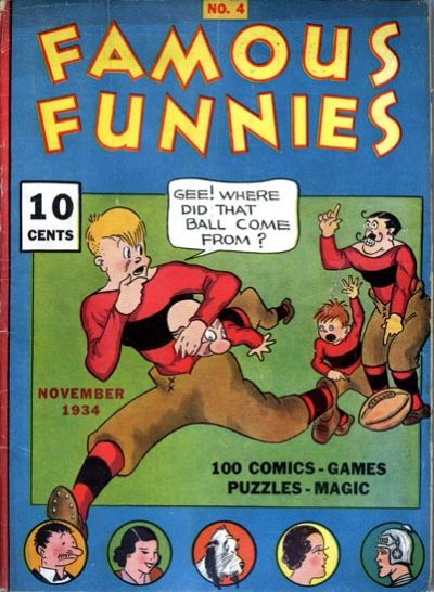 Cover for Famous Funnies (Eastern Color, 1934 series) #4