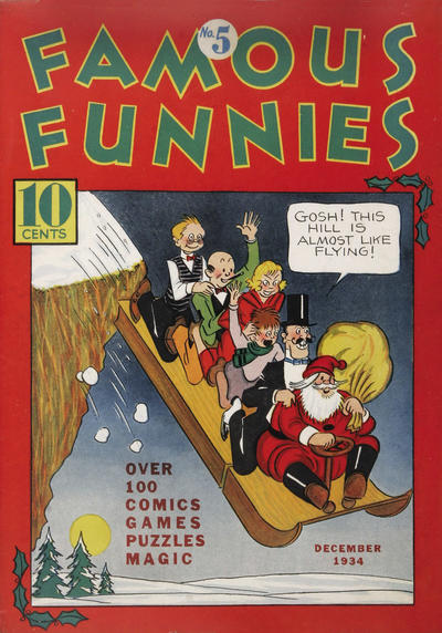 Cover for Famous Funnies (Eastern Color, 1934 series) #5