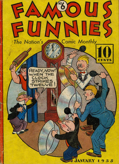 Cover for Famous Funnies (Eastern Color, 1934 series) #6