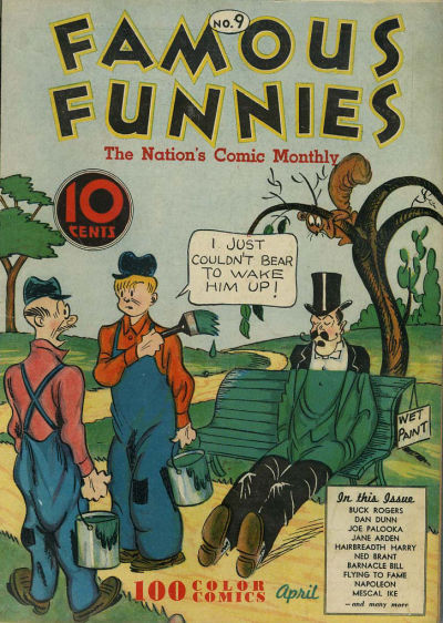 Cover for Famous Funnies (Eastern Color, 1934 series) #9