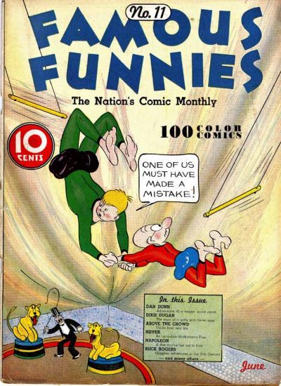 Cover for Famous Funnies (Eastern Color, 1934 series) #11