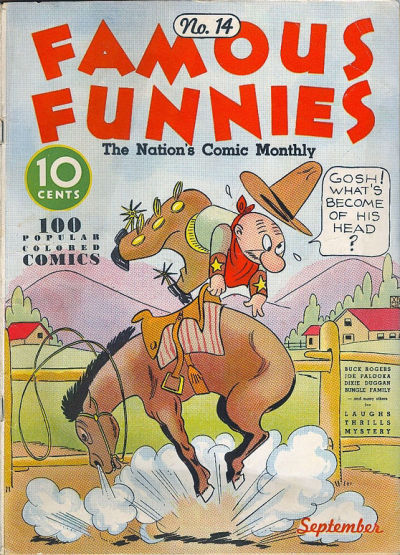 Cover for Famous Funnies (Eastern Color, 1934 series) #14
