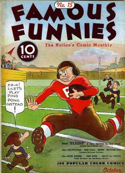 Cover for Famous Funnies (Eastern Color, 1934 series) #15
