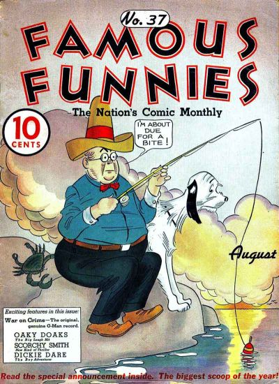 Cover for Famous Funnies (Eastern Color, 1934 series) #37