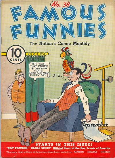 Cover for Famous Funnies (Eastern Color, 1934 series) #38