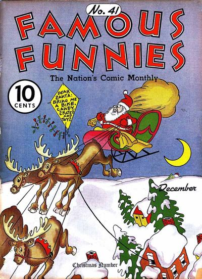 Cover for Famous Funnies (Eastern Color, 1934 series) #41