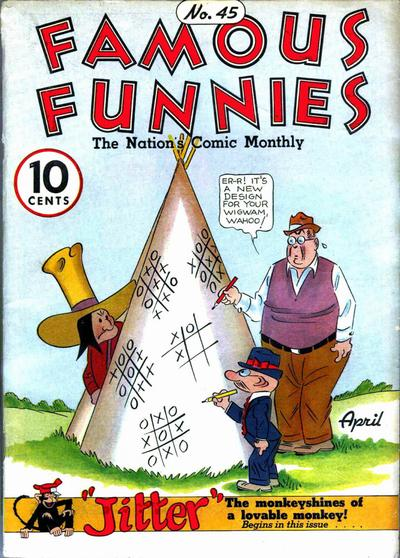 Cover for Famous Funnies (Eastern Color, 1934 series) #45