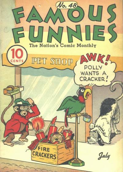 Cover for Famous Funnies (Eastern Color, 1934 series) #48