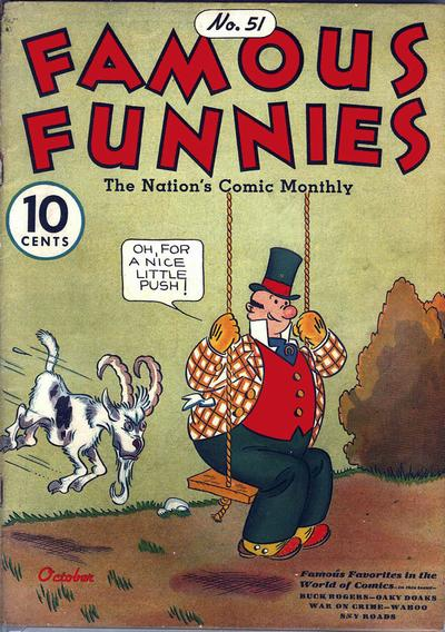 Cover for Famous Funnies (Eastern Color, 1934 series) #51