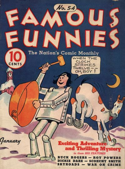 Cover for Famous Funnies (Eastern Color, 1934 series) #54
