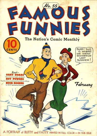 Cover for Famous Funnies (Eastern Color, 1934 series) #55