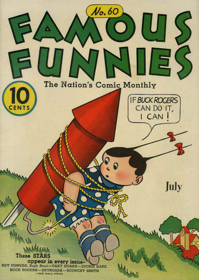 Cover for Famous Funnies (Eastern Color, 1934 series) #60