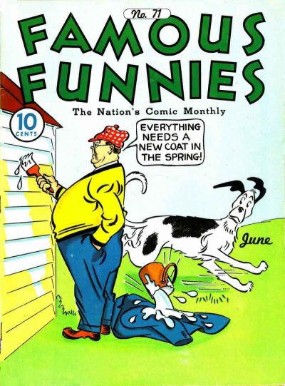 Cover for Famous Funnies (Eastern Color, 1934 series) #71