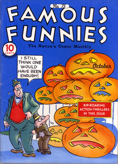 Cover for Famous Funnies (Eastern Color, 1934 series) #75