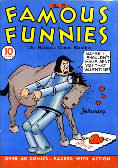 Cover for Famous Funnies (Eastern Color, 1934 series) #79