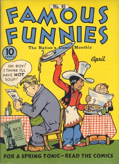 Cover for Famous Funnies (Eastern Color, 1934 series) #93