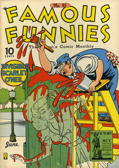 Cover for Famous Funnies (Eastern Color, 1934 series) #95