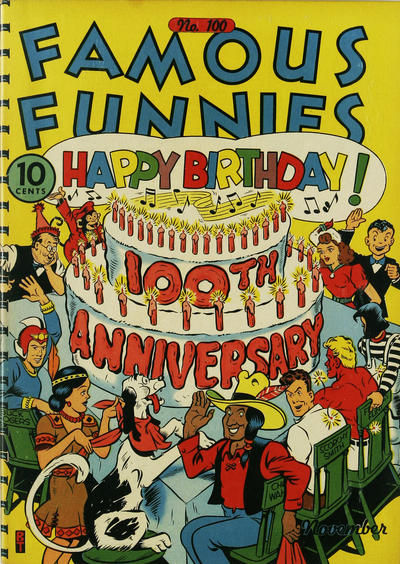 Cover for Famous Funnies (Eastern Color, 1934 series) #100