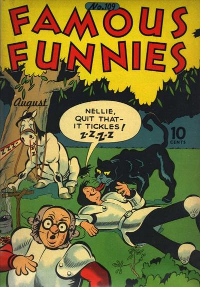 Cover for Famous Funnies (Eastern Color, 1934 series) #109