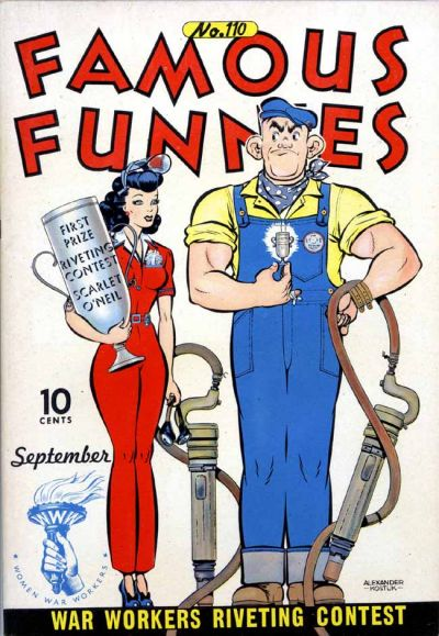 Cover for Famous Funnies (Eastern Color, 1934 series) #110
