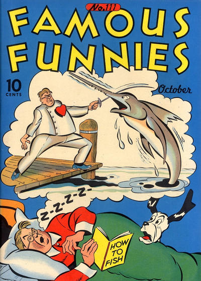Cover for Famous Funnies (Eastern Color, 1934 series) #111