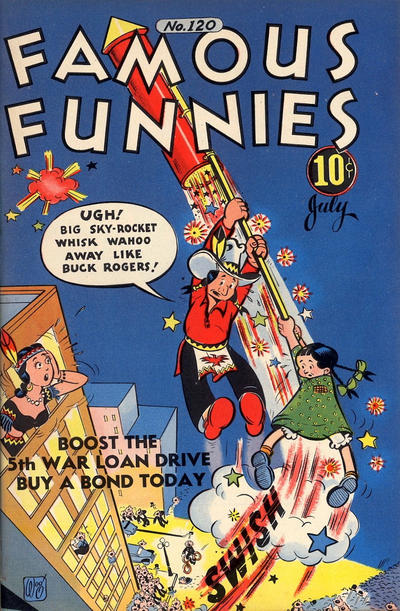 Cover for Famous Funnies (Eastern Color, 1934 series) #120
