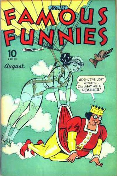 Cover for Famous Funnies (Eastern Color, 1934 series) #121