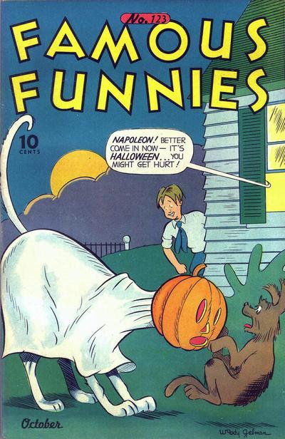 Cover for Famous Funnies (Eastern Color, 1934 series) #123