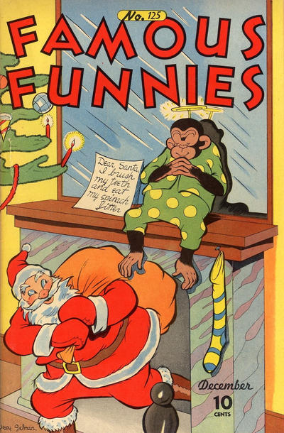 Cover for Famous Funnies (Eastern Color, 1934 series) #125