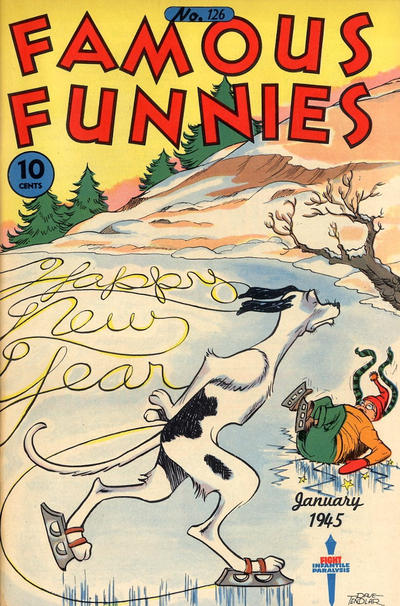 Cover for Famous Funnies (Eastern Color, 1934 series) #126