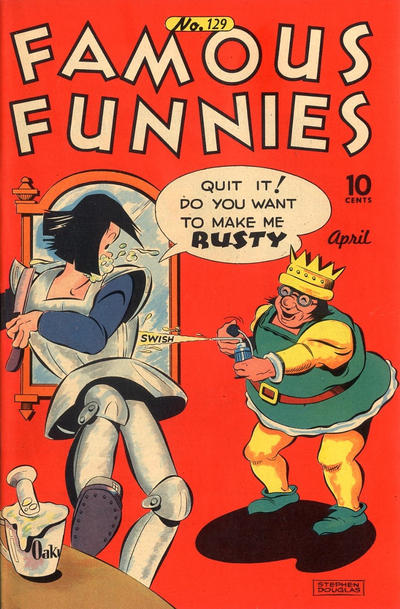 Cover for Famous Funnies (Eastern Color, 1934 series) #129