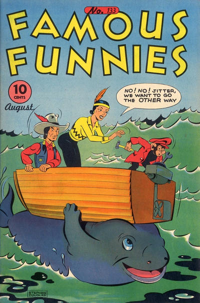Cover for Famous Funnies (Eastern Color, 1934 series) #133