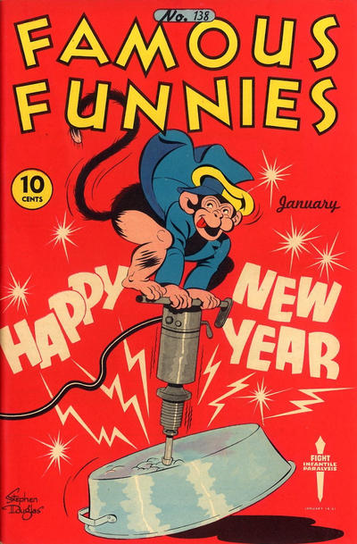 Cover for Famous Funnies (Eastern Color, 1934 series) #138