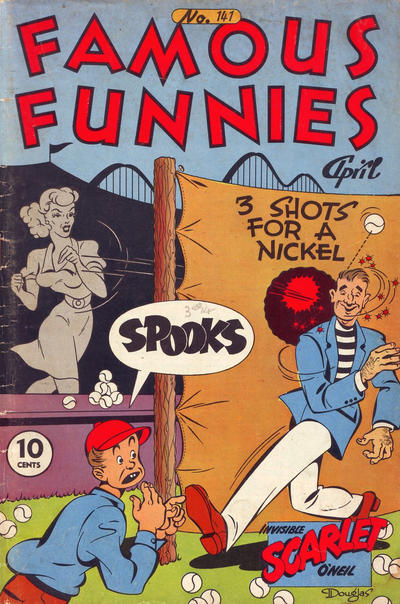 Cover for Famous Funnies (Eastern Color, 1934 series) #141