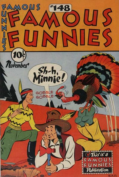 Cover for Famous Funnies (Eastern Color, 1934 series) #148