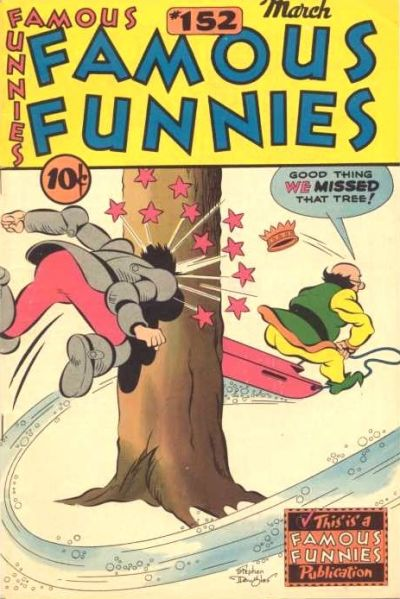 Cover for Famous Funnies (Eastern Color, 1934 series) #152