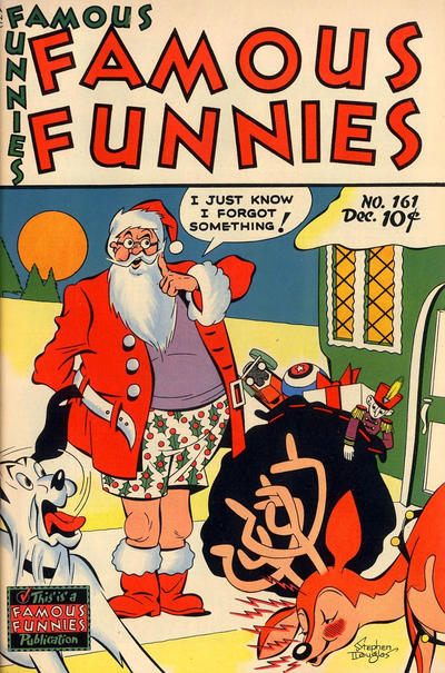 Cover for Famous Funnies (Eastern Color, 1934 series) #161