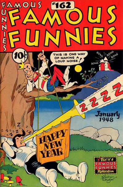 Cover for Famous Funnies (Eastern Color, 1934 series) #162