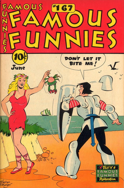 Cover for Famous Funnies (Eastern Color, 1934 series) #167
