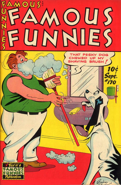 Cover for Famous Funnies (Eastern Color, 1934 series) #170