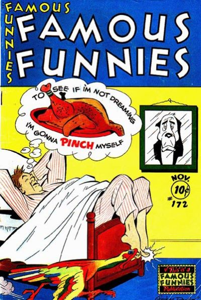 Cover for Famous Funnies (Eastern Color, 1934 series) #172