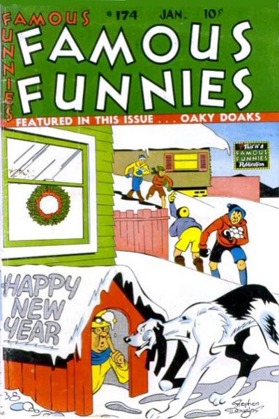 Cover for Famous Funnies (Eastern Color, 1934 series) #174