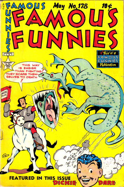Cover for Famous Funnies (Eastern Color, 1934 series) #178