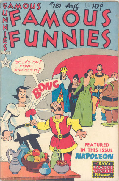 Cover for Famous Funnies (Eastern Color, 1934 series) #181