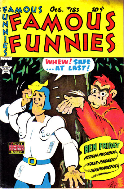 Cover for Famous Funnies (Eastern Color, 1934 series) #183