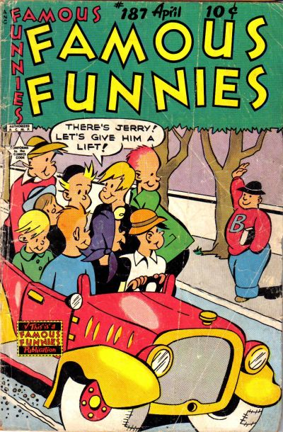 Cover for Famous Funnies (Eastern Color, 1934 series) #187