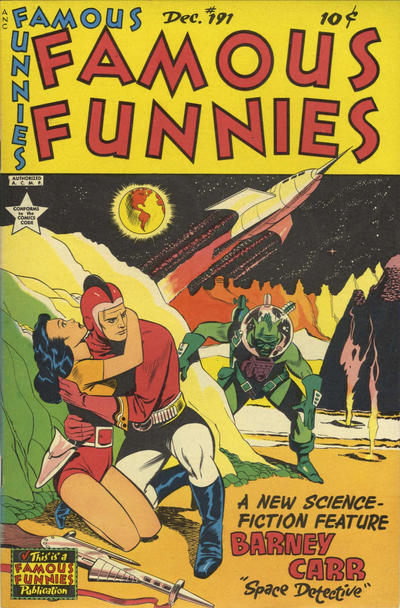 Cover for Famous Funnies (Eastern Color, 1934 series) #191