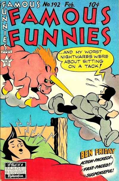 Cover for Famous Funnies (Eastern Color, 1934 series) #192